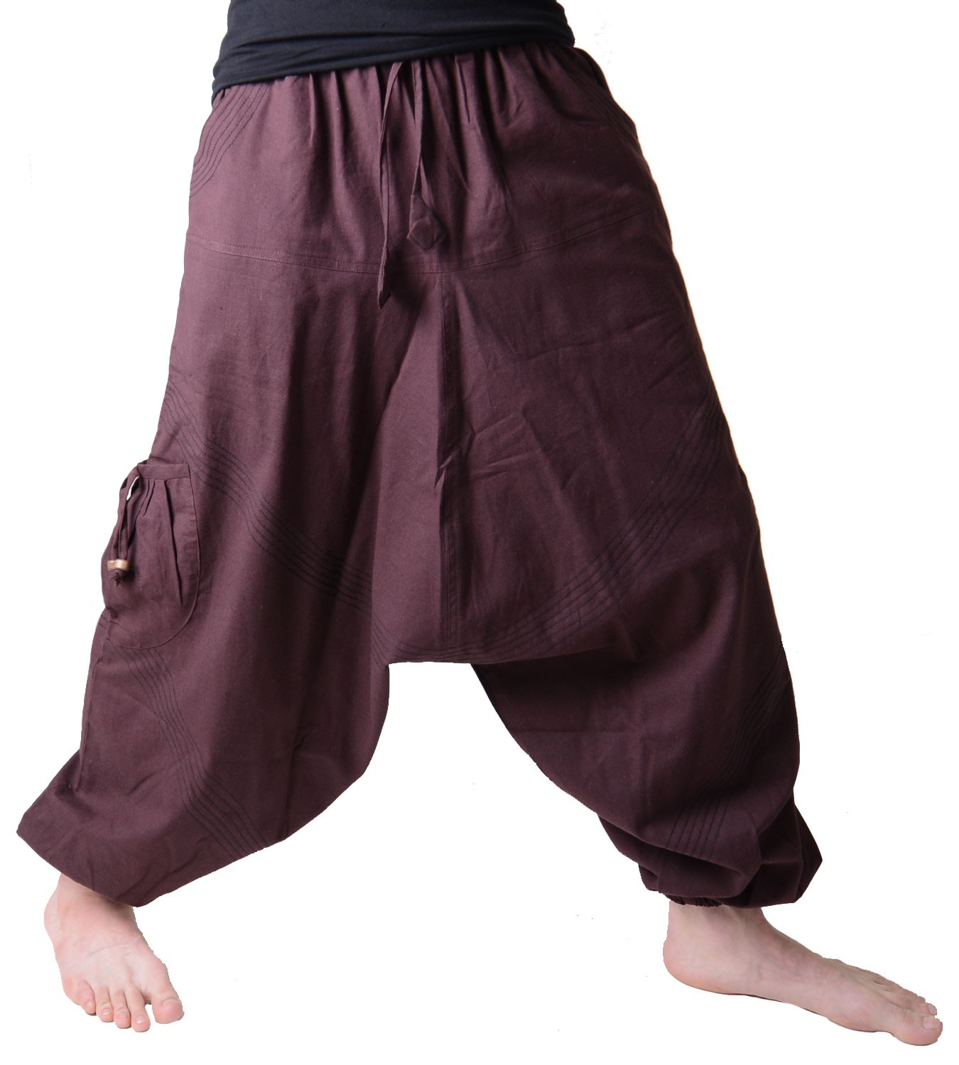 mens harem pants in classic colors ebay