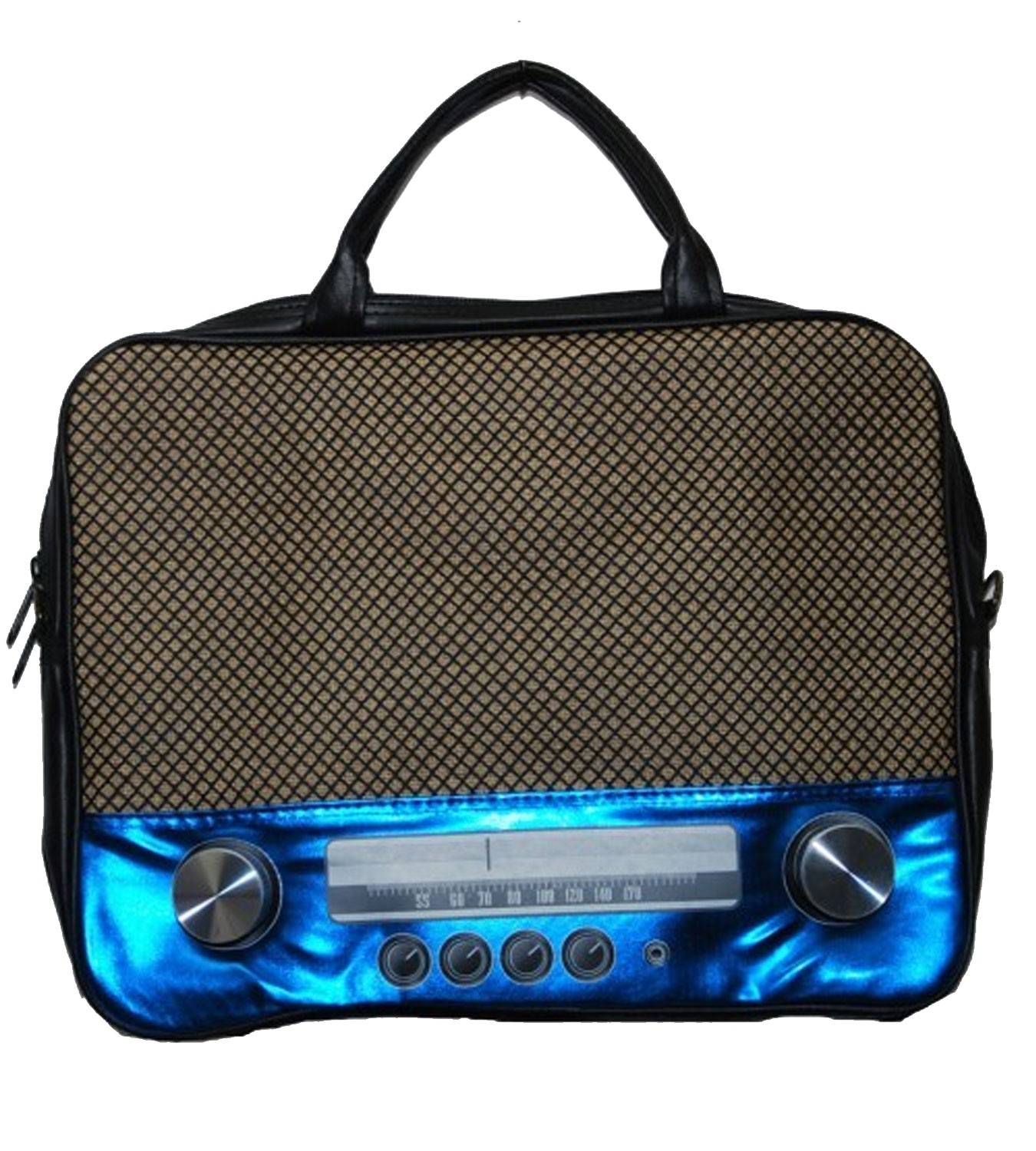 kult 70er retro radio bag notebooktasche im retro style 39 6cm 15 ebay. Black Bedroom Furniture Sets. Home Design Ideas