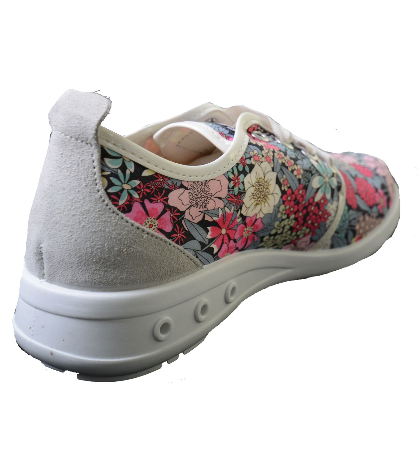 break walk sneaker mit blumenmuster b w schuhe. Black Bedroom Furniture Sets. Home Design Ideas