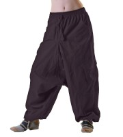 Unisex Psy Baggy Pants Hippie Hose Goa Baumwoll Tanzhose Lang