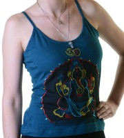 Embroidered Om Ganesha Top Nepal Girlie