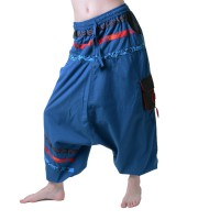 Psy Sarouel Baggy Pants Hippie Hose Goa Baumwoll Tanzhose