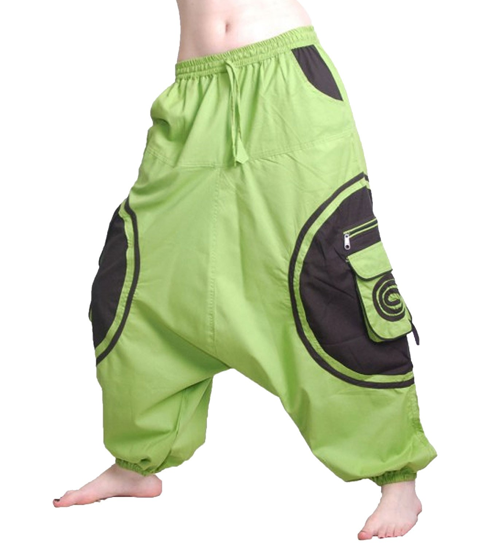 unisex psy baggy pants hippie hose goa baumwoll tanzhose. Black Bedroom Furniture Sets. Home Design Ideas